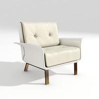 3d covre armchair art 840