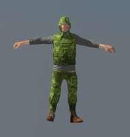 man cloth animation max
