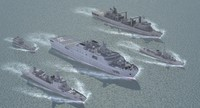 3d model chinese navy set02