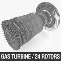 gas turbine rotor max