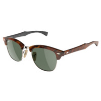 stylish rayban clubmaster sunglasses 3d model