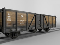 german railcar 3d max