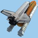 Space Shuttle Columbia 3D models