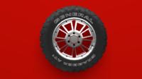 tires general 3d blend