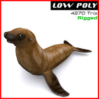 seal ready games 3d max