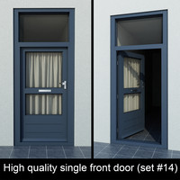 3d single door settings