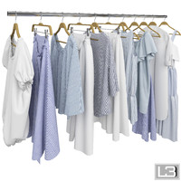 Clothes on Hangers 10