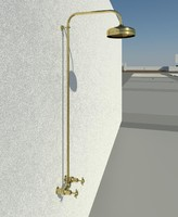Perrin and Rowe outdoor brass shower
