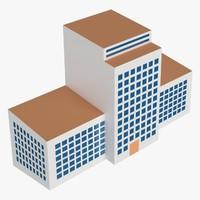 3d model building collada dae
