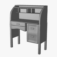 dxf desk table