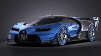 2015 bugatti concept obj