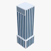 3d building collada dae