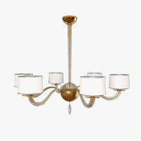 signature bbs08 chandelier baker 3ds