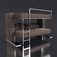 transforming sofa 3d model