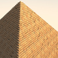 3d egyptian pyramid
