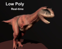 carnotaurus t-rex obj