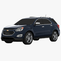 chevrolet equinox suv 3d 3ds