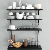 3d kitchen ware