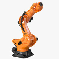 3d kuka robot titan rigged model