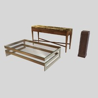 buffet table pedestal sanford max