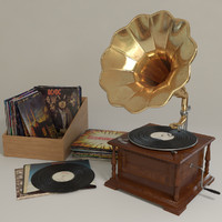 phonograph and vinyl records