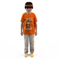3d fashion clothing children baby s