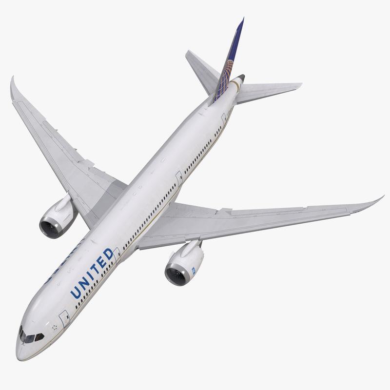 Boeing 787-9 Dreamliner United Rigged 3d model 01.jpg