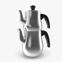 classic teapot 3d model