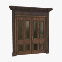 free max mode wooden door