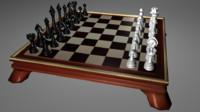 3d chess classic model
