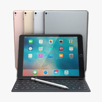 3d apple ipad pro 9