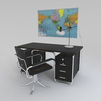 Bauhaus desk and chair