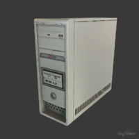 computer block 3d max