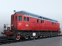 locomotive ge-1 3ds