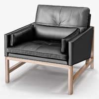 BassamFellows Low Back Lounge Chair