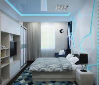 bedroom room 3d max