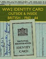 WWII Identity Card (British)