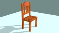 wooden chair blend