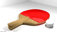 3d ping-pong sport equipment