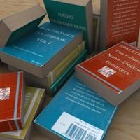paperback books 3d model