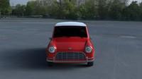 mini cooper hdri 3d model