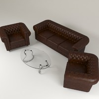 chesterfield set sofa max