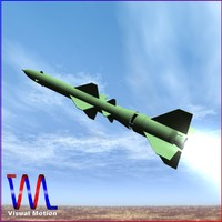 chinese missile css-8 obj