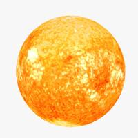 3d sun