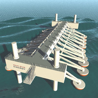 Wave energy machine