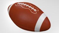 ball american football 3d 3ds