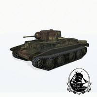 3d model 10tp tank