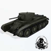 3d bt-7 bt tanks model