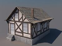 house polys 3d model