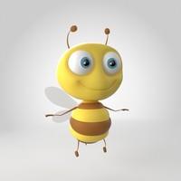 3d bee model